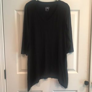 Logo brand size XS pullover vneck tunic top